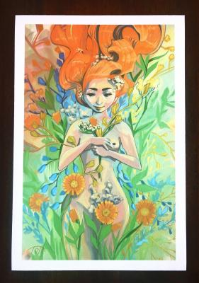 Impression sur papier d'Art - Collection (éveil)