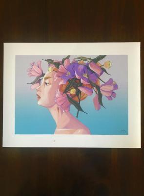 Impression sur papier d'Art - Composition