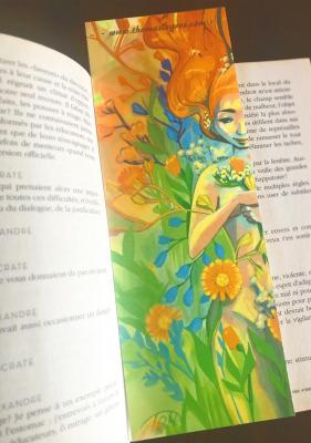 marque page illustré - Collection