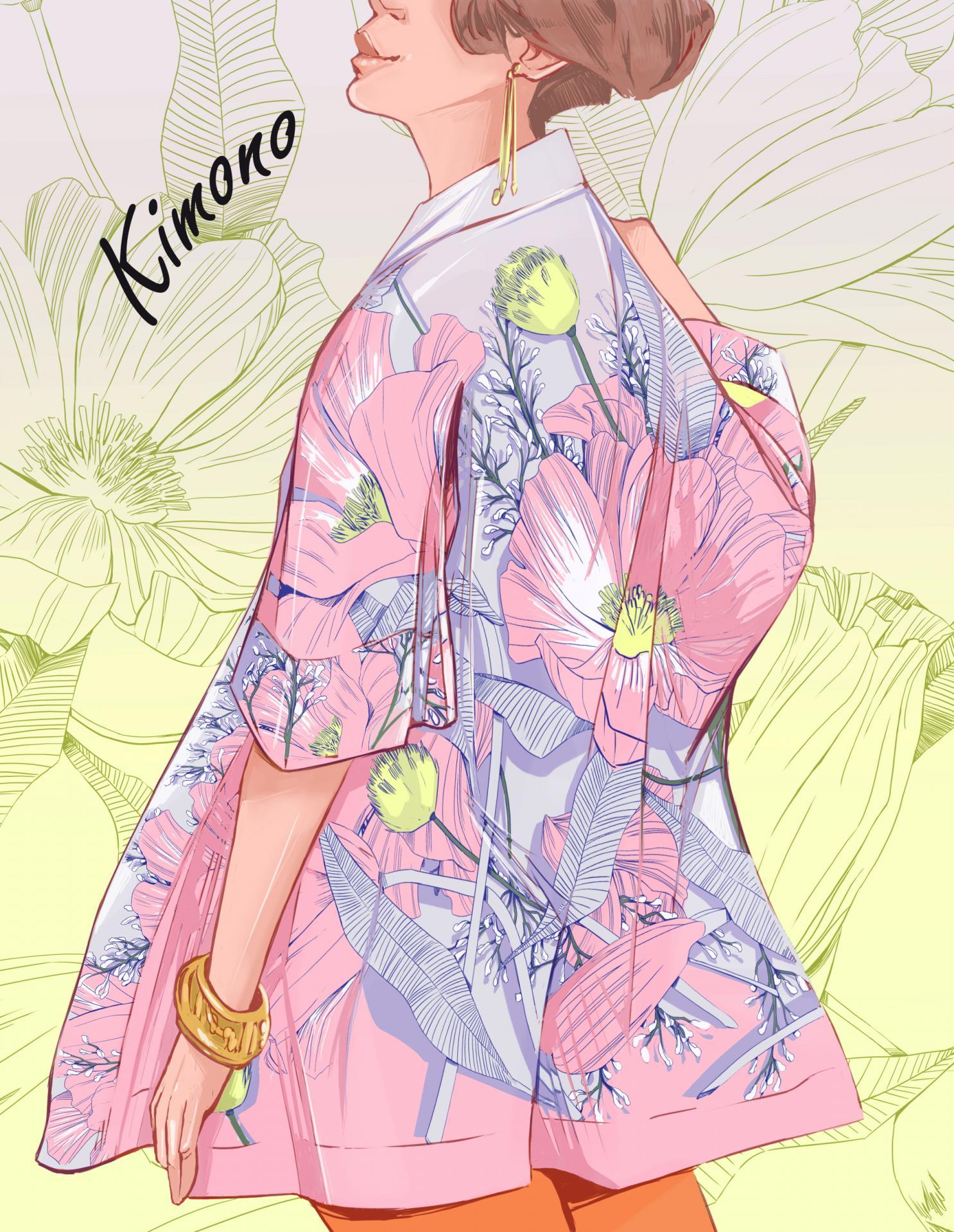 Vignette kimono 1